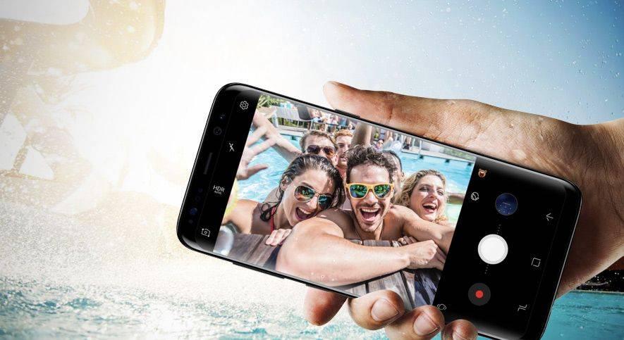 Samsung Odporność na wodę i pył