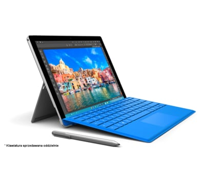 Tablet 2 w 1 MICROSOFT Surface Pro 4 256GB i5 8GB