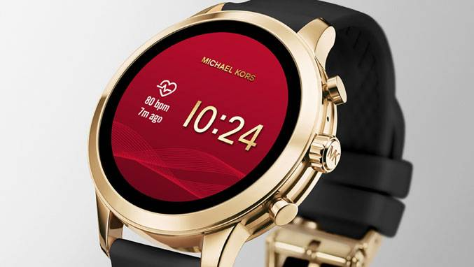 7fdc6e889e8ae SmartWatch MICHAEL KORS ACCESS Runway Srebrny MKT5044, Smartwatches ...