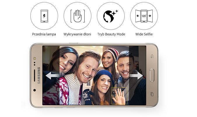 Zaawansowany aparat: Wyglądaj świetnie na każdym selfie