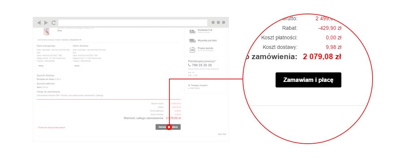 b0adf79d36c1be Twoje zamówienie zostało wysłane do marketu. Szczegółowe informacje o  możliwości i warunkach odbioru lub dostawy towaru otrzymasz w wiadomości  e-mail.