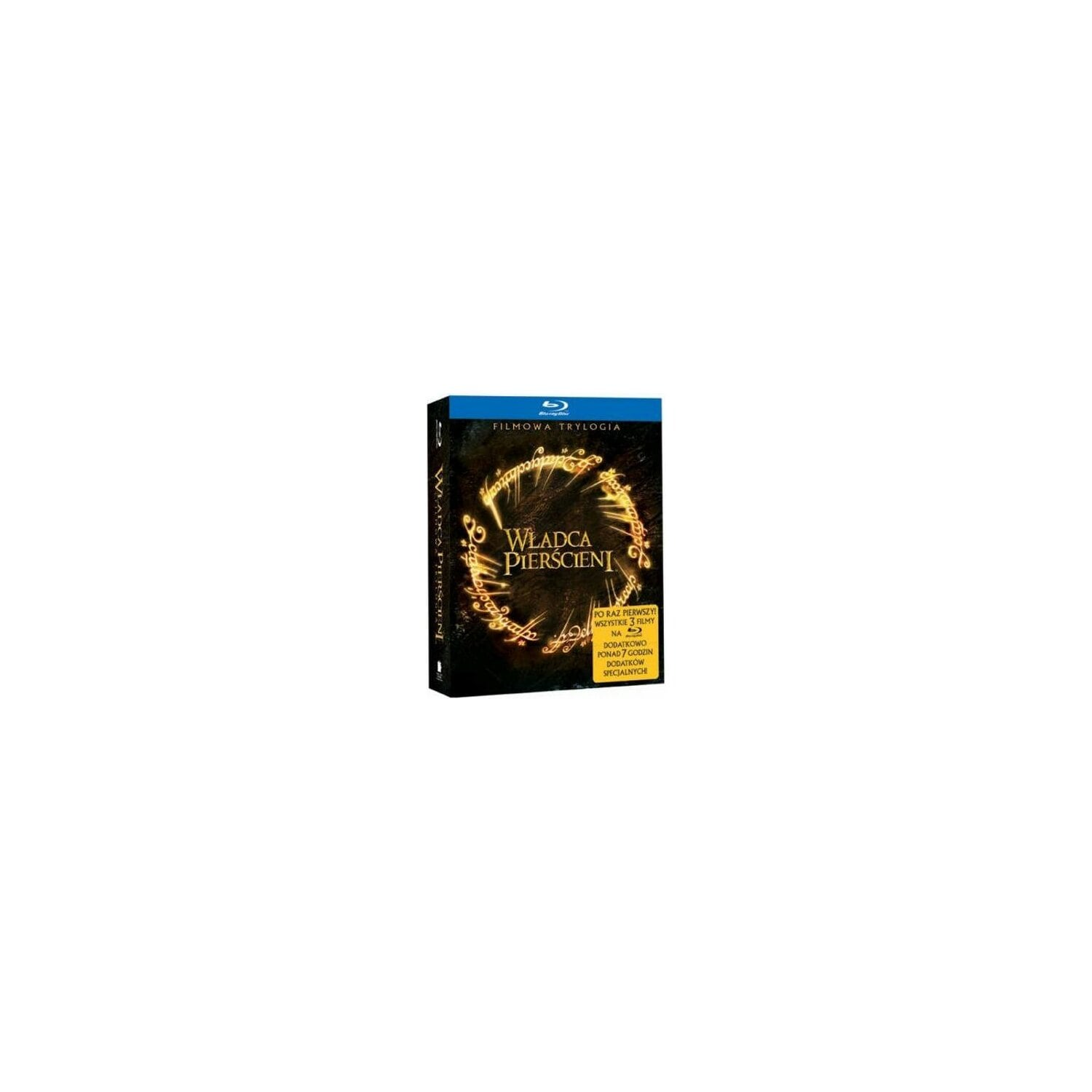 Film GALAPAGOS Władca Pierścieni Trylogia (3BD + 3DVD) Lord of the Rings: Trilogy
