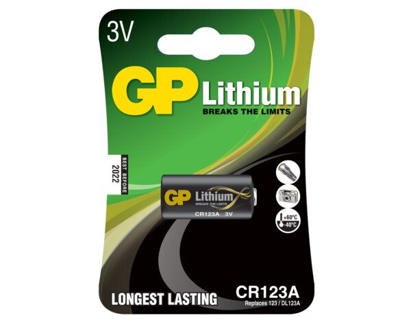 Bateria GP CR123A-U1