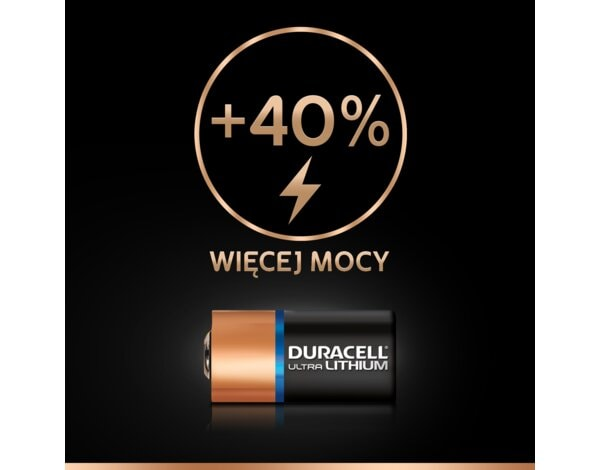 Bateria DURACELL Ultra Photo CR123A K2