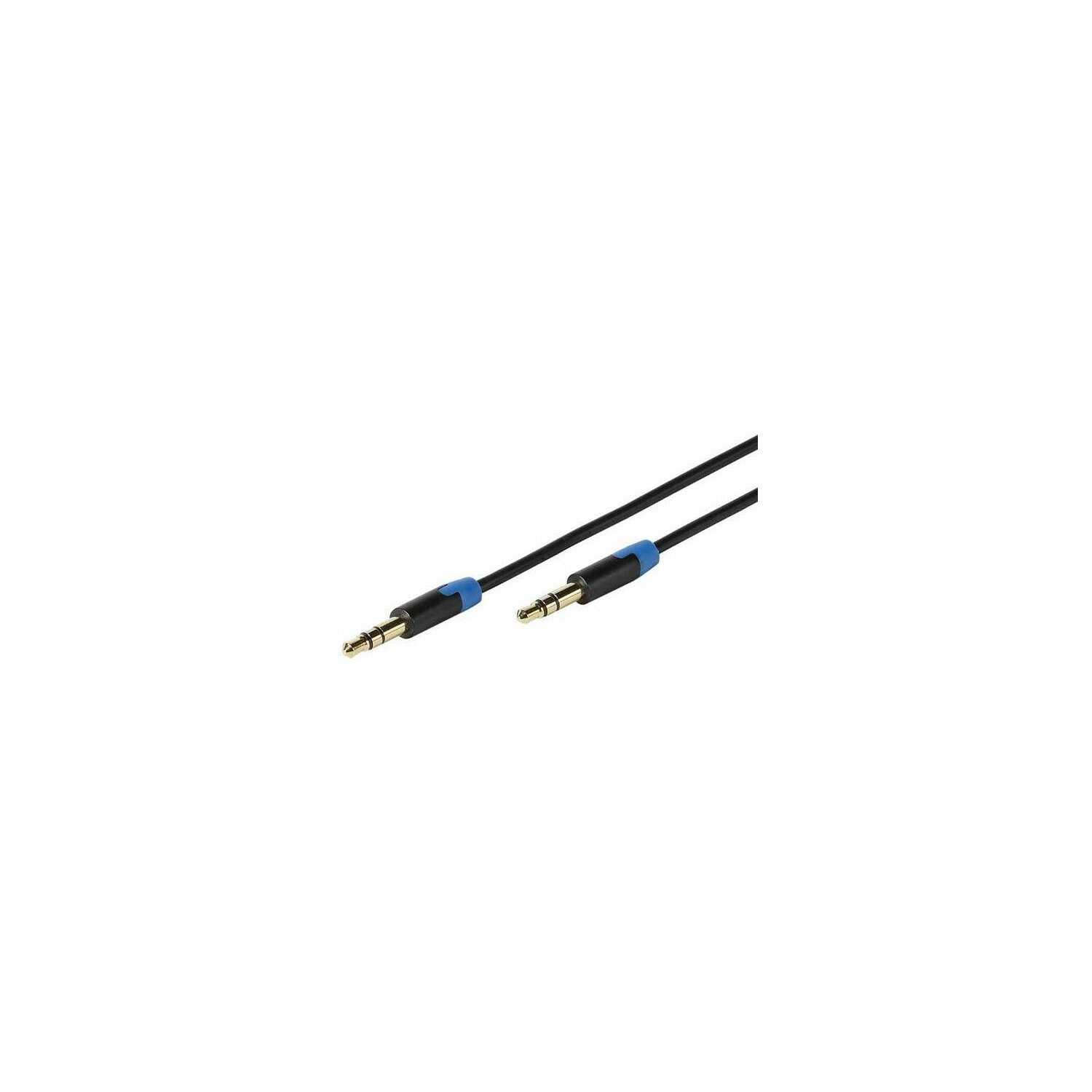 Kabel VIVANCO jack 3.5 mm - jack 3.5 mm 0.6m Czarny