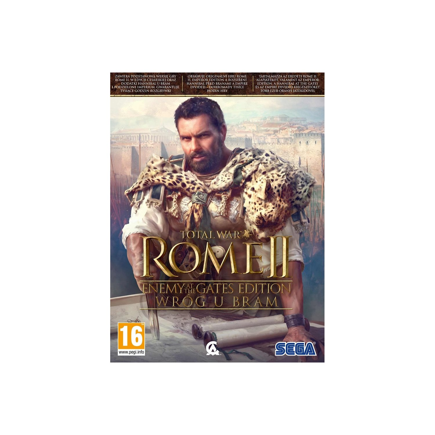Gra PC Total War: Rome II - Enemy at the Gates Edition - Wróg u bram