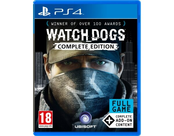 Gra PS4 Watch_Dogs Complete Edition