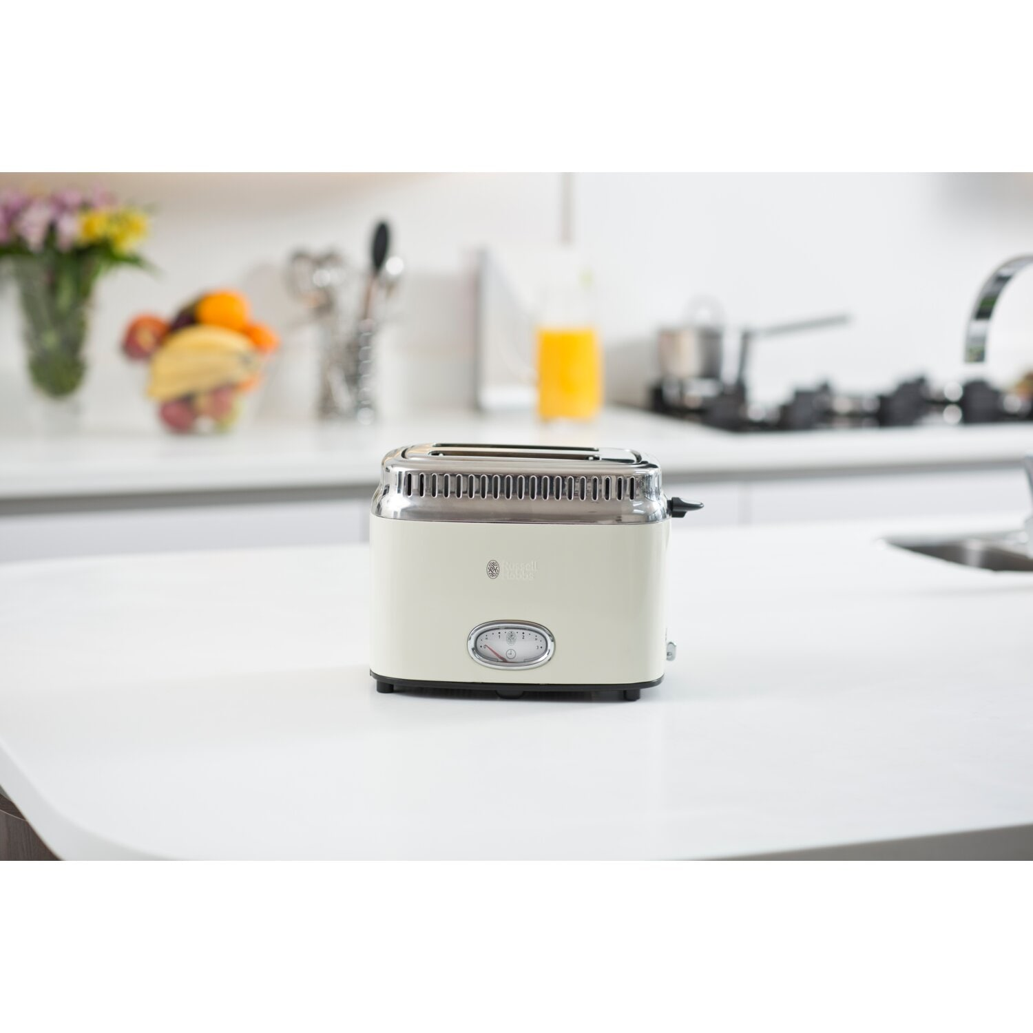 Toster RUSSELL HOBBS 21682-56 RETRO VINTAGE CREAM