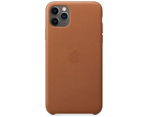 Etui APPLE Leather Case do iPhone 11 Pro Max Jasnobrązowy MX0D2ZM/A