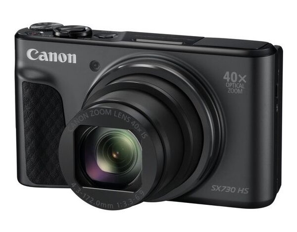 Aparat CANON PowerShot SX730 HS Czarny Travel kit