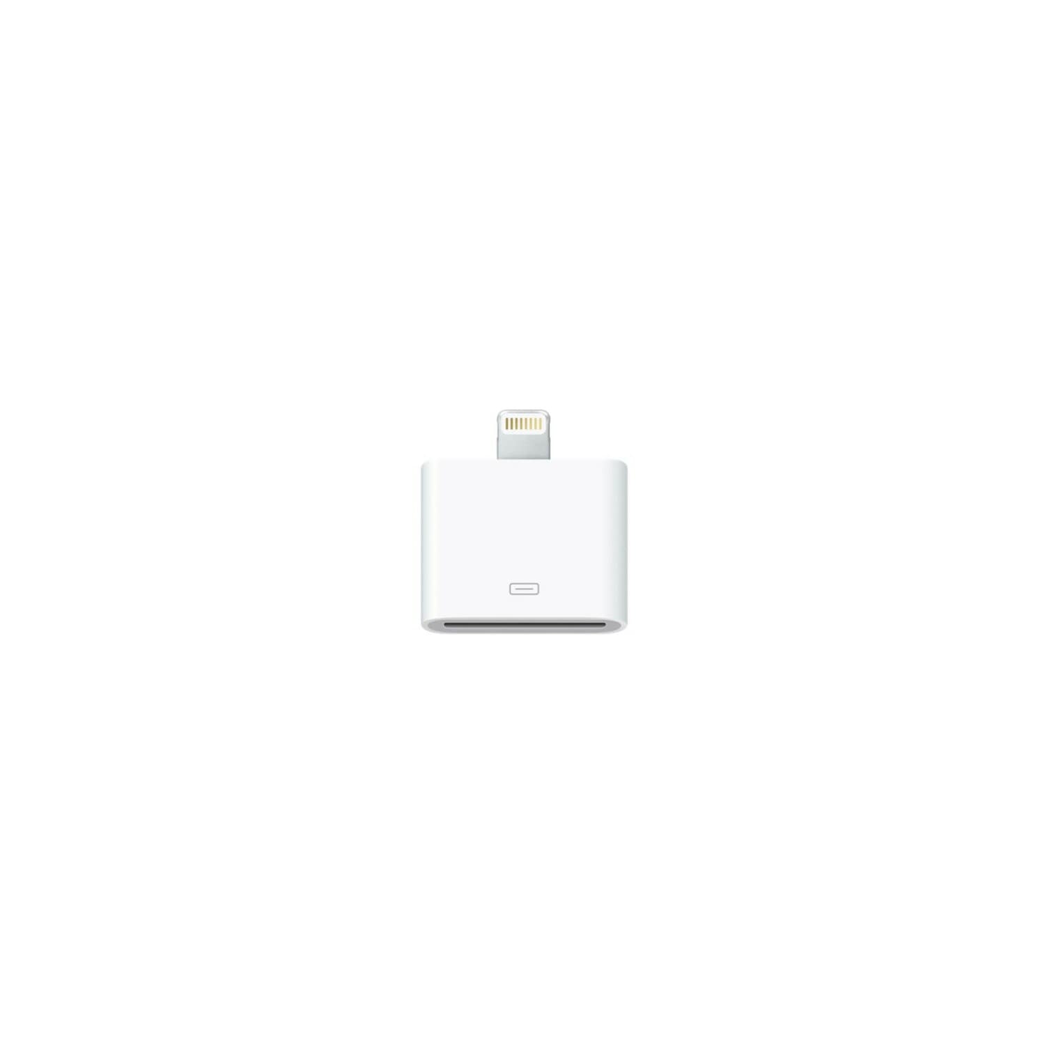 Adapter APPLE Lightning - 30 pin (złącze-gniazdo) MD823ZM/A