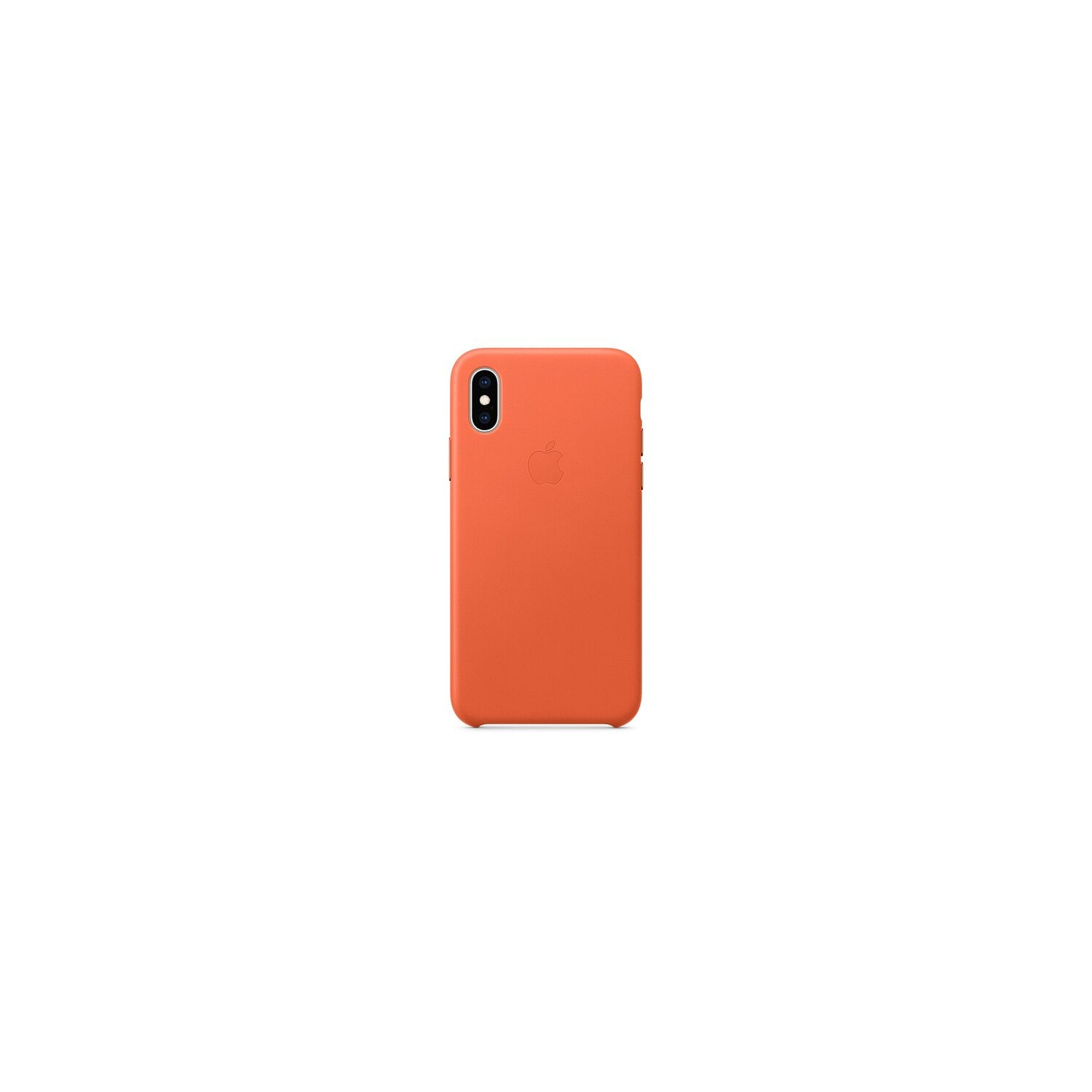 Etui APPLE iPhone XS Max Leather Case oranż  MVFY2ZM/A