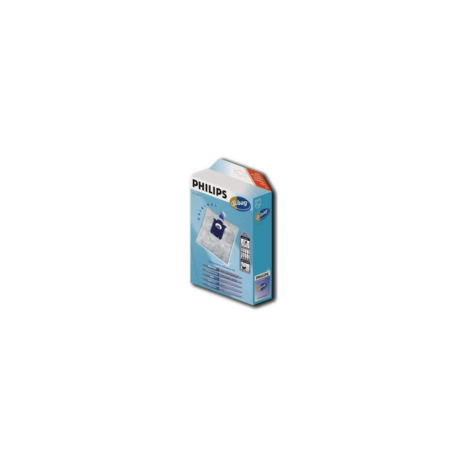 Worki do odkurzacza PHILIPS S-bag Anti-Odour FC8023/03