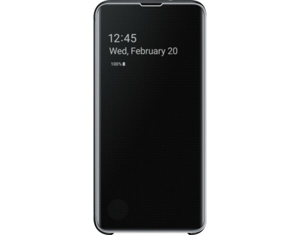 Etui SAMSUNG Clear View Cover do Galaxy S10e Czarny EF-ZG970CBEGWW