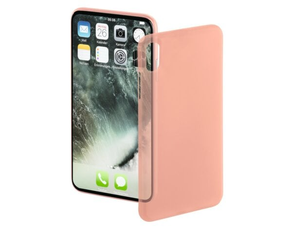 Etui HAMA Ultra Slim do Apple iPhone X Różowo-złoty