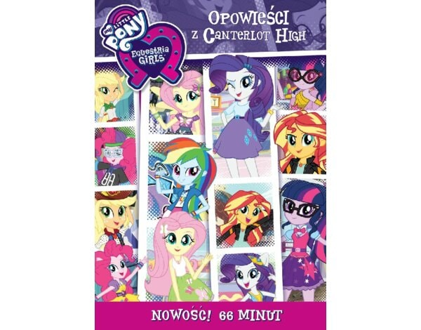 My Little Pony Equestria Girls: Opowieści z Canterlot High (DVD)