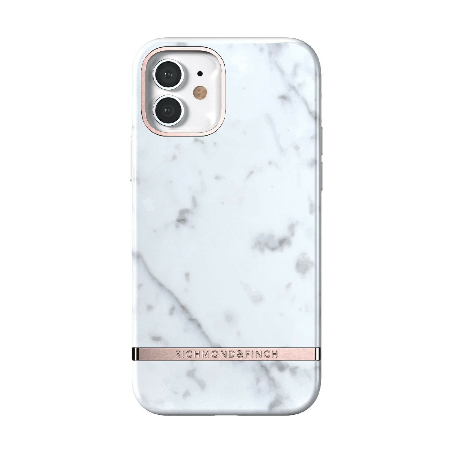 Etui RICHMOND & FINCH White Marble do iPhone 12/iPhone 12 Pro
