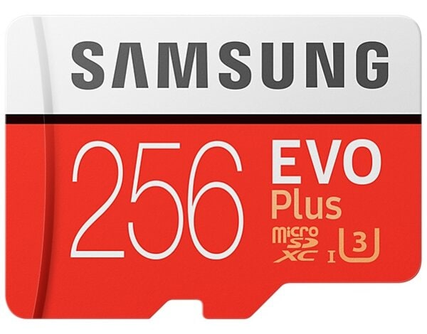 Karta pamięci SAMSUNG EVO Plus 256GB MicroSD MB-MC256GA/EU + adapter SD