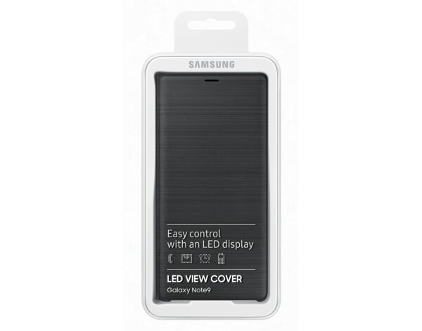 Etui SAMSUNG LED View Cover Note9 Czarny EF-NN960PBEGWW