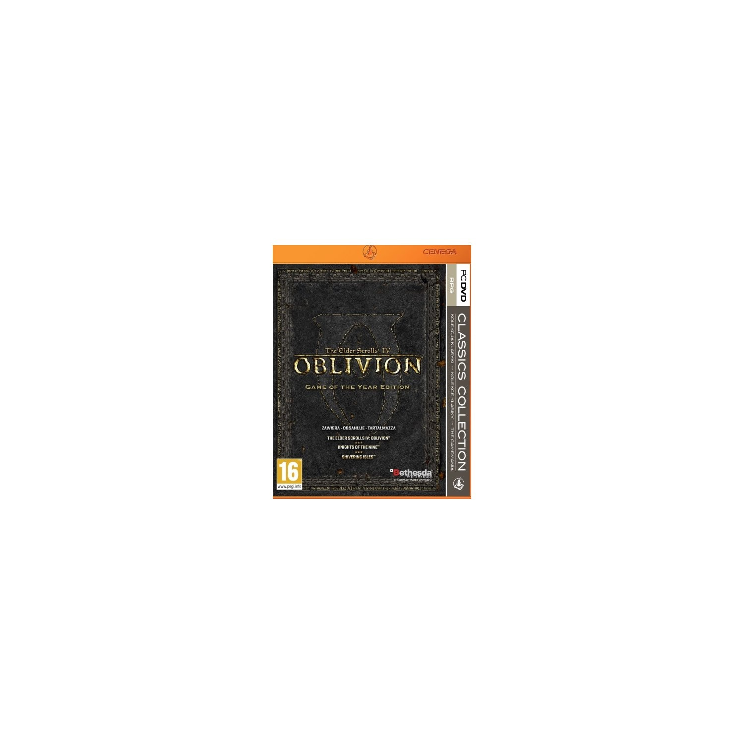 Gra PC PKK The Elder Scrolls IV: Oblivion Game of the Year Edition