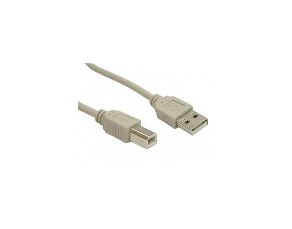 Kabel USB 4WORLD 2.0 typu AB 1.8m
