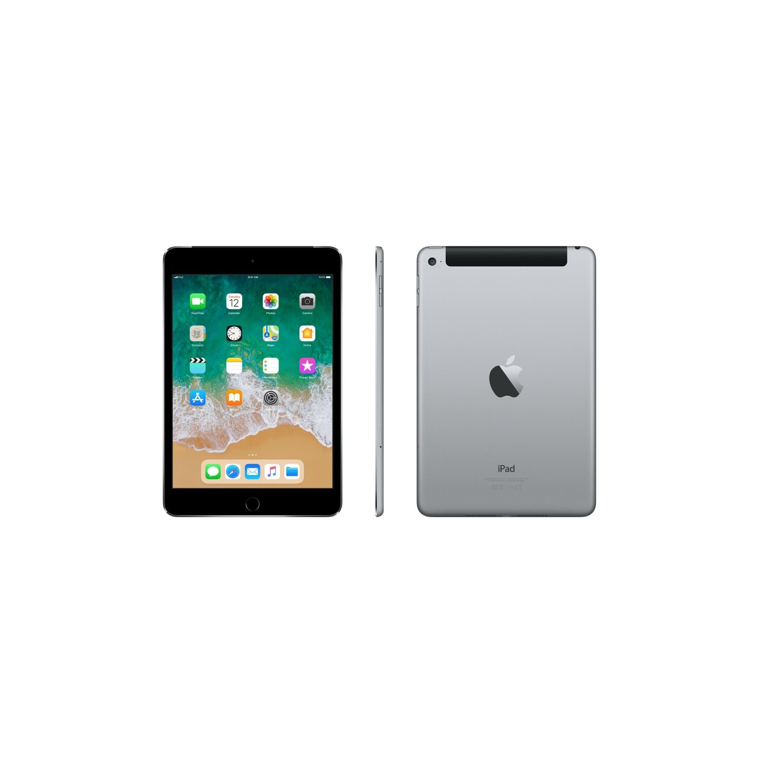 Tablet APPLE iPad mini 4 Wi-Fi + Cellular 128GB Gwiezdna szarość