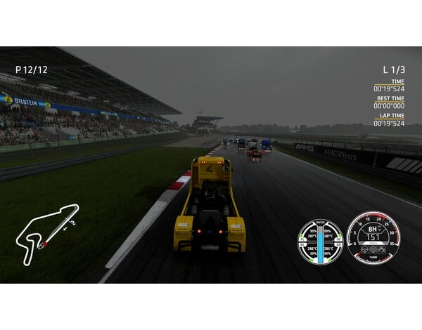 Gra Nintendo Switch FIA European Truck Racing Championship