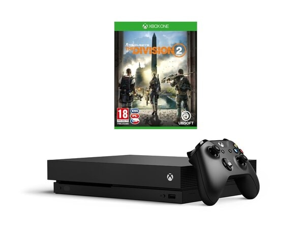 Konsola MICROSOFT Xbox One X + Tom Clancy's The Division 2