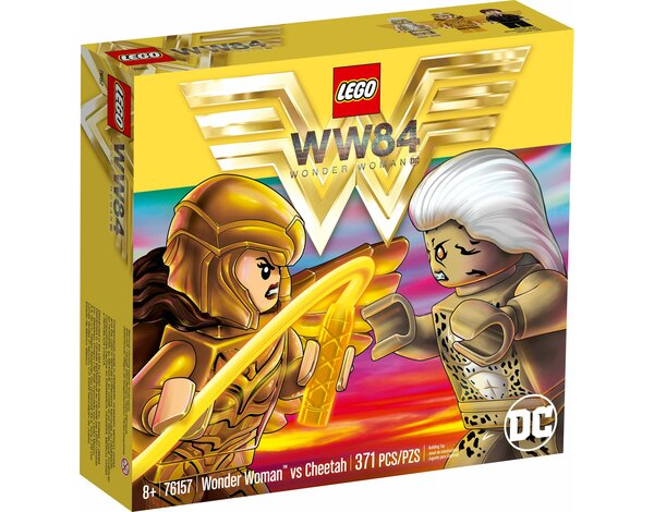 Klocki LEGO DC Super Heroes - Wonder Woman vs Cheetah (76157)
