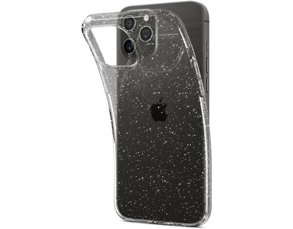 Etui SPIGEN Liquid Crystal do Apple iPhone 12 Pro Max Przezroczysty