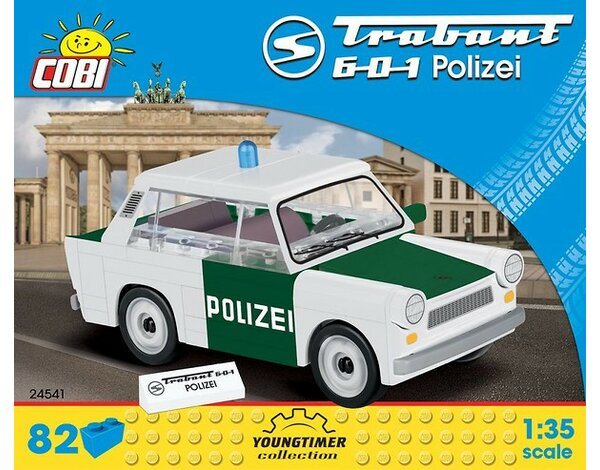 Klocki COBI Youngtimer Collection - Trabant 601 Polizei 24541