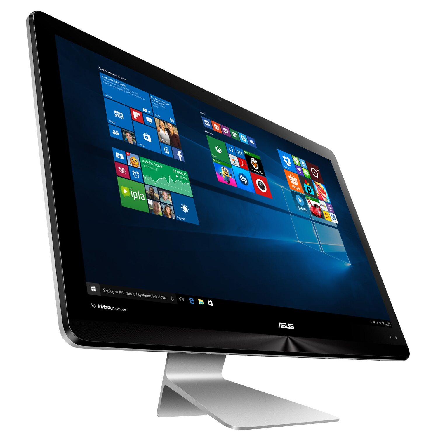 Komputer All-in-One ASUS Zen AiO ZN220ICGT-RA019T i5-7200U/8GB/1TB/930MX/Win10