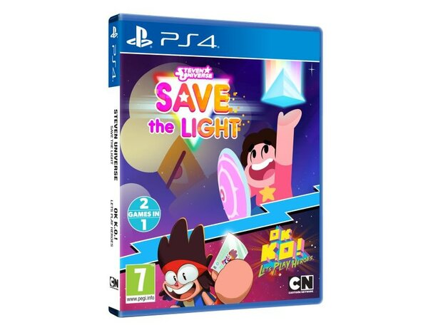 Gra PS4 Steven Universe: Save The Light + OK K.O.! Let's Play Heroes