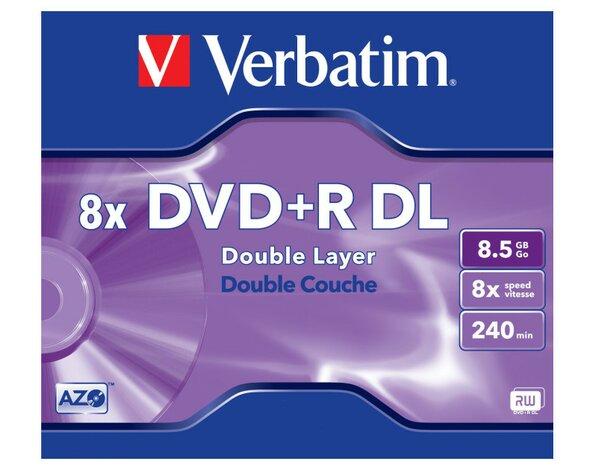 Płyta Verbatim Dvdr Dl 1szt