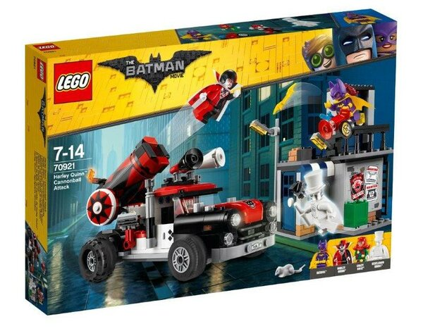 Lego Batman Movie. 70921 Armata Harley Quinn