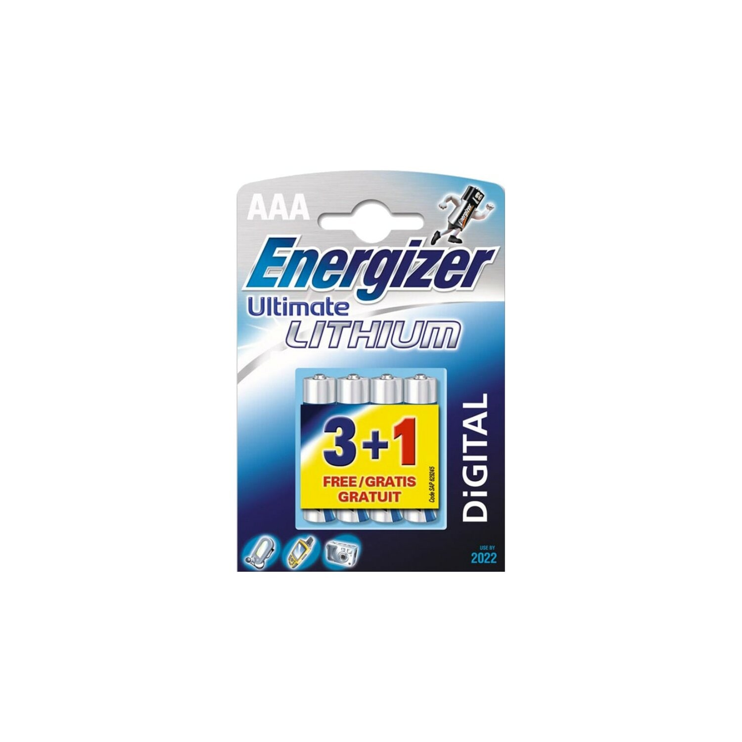 Bateria ENERGIZER Ultimate Lithium L-92 AAA 3+1