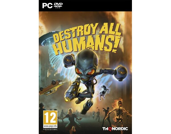 Gra PC Destroy All Humans! DNA Collectors Edition