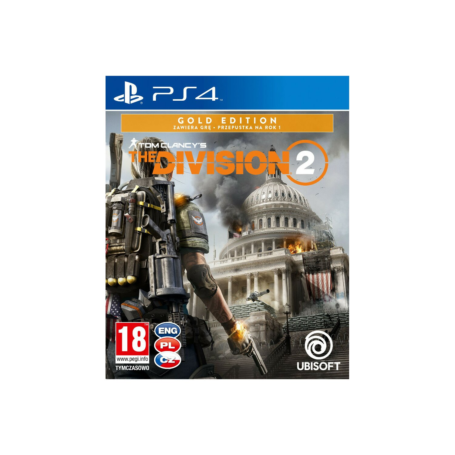 Gra PS4 Tom Clancy's The Division 2 Edycja Gold